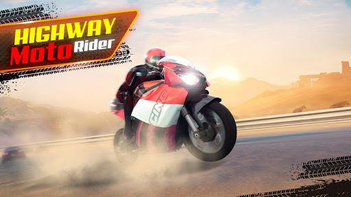 Highway Moto Rider - Traffic Race  captures d'écran 1