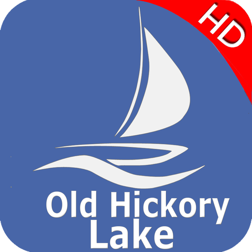 Old Hickory Lake Tennessee Offline GPS Charts