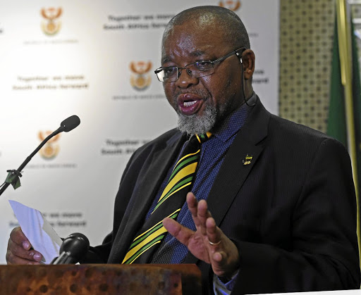 Excellent news: Gwede Mantashe wants to remove uncertainties in the sector. Picture: SIYABULELA DUDA