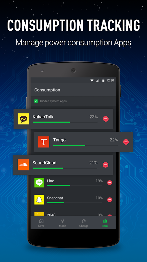 GO Battery Saver&Power Widget- screenshot