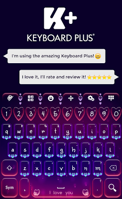 Valentine's Day Keyboard - screenshot