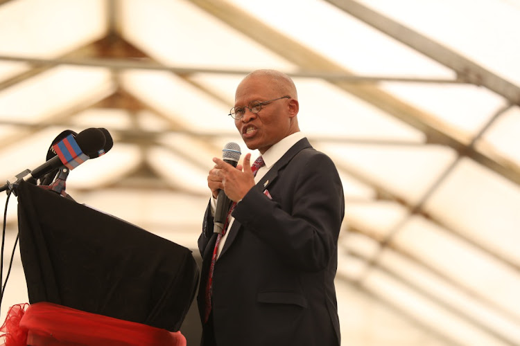 """Chief justice Mogoeng Mogoeng has defended his prayer against vaccines that """"corrupt the DNA of the people""""."""