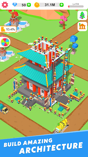 Code Triche Idle Construction 3D APK MOD screenshots 4