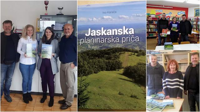 """Monografija """"Jaskanska planinarska priča"""" donirana osnovnim školama"""
