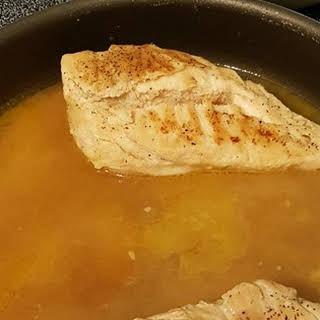Lemon Garlic Chicken Breasts.