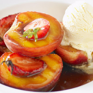 Grilled Fruit in Marsala Sauce