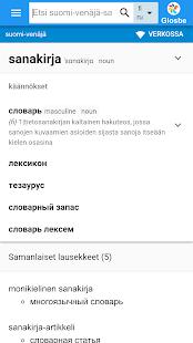 Venäjä-Suomi Sanakirja - náhled