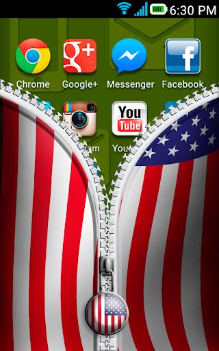 Unlock USA Flag