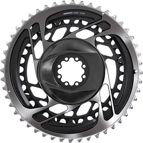 SRAM Red AXS Direct-Mount 48/35t 2x12 speed Chainring Set, Polar Gray