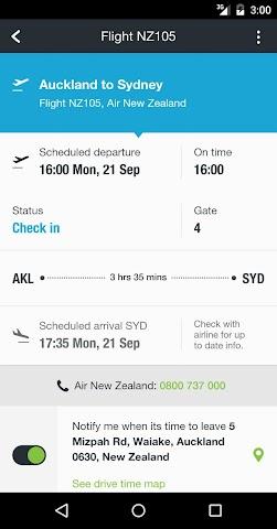 Screenshot 2 Auckland Airport
