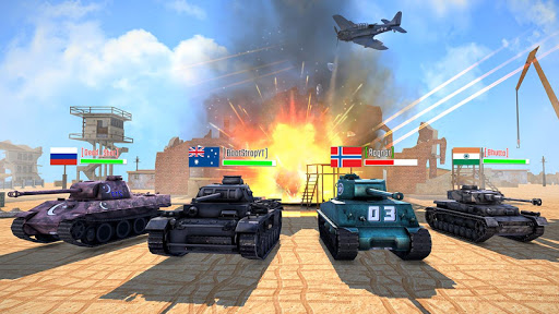 Battleship of Tanks - Tank War Game  screenshots 12
