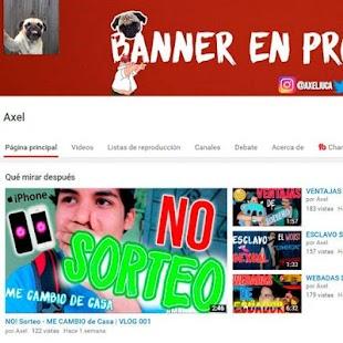 Axel's Vlog 2.0 - náhled