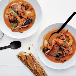 Seafood Stew for Two.