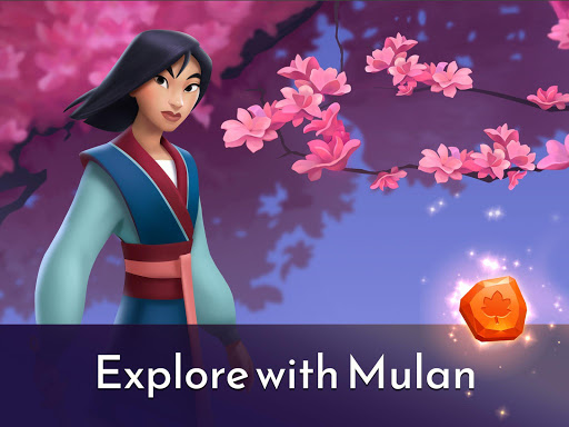 Disney Princess Majestic Quest: Match 3 & Decorate 1.7.1a Screenshots 18