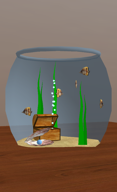 Das kleine Aquarium – Screenshot