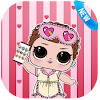 LOL Dolls Surprise fake call Pocket APK Icon