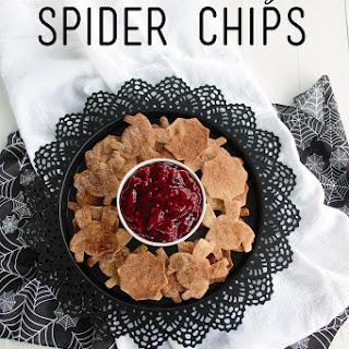 Cinnamon Sugar Spider Chips
