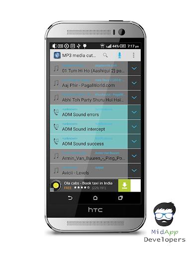 MP3 Media cutter
