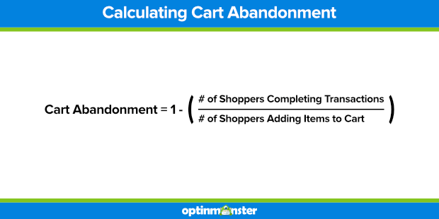 How to Calculate Shopping Cart Abandonment Rate