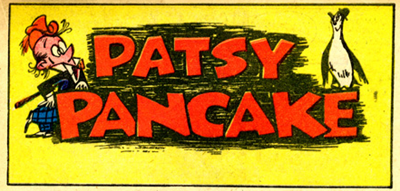 Patsy Pancake and Chives the Penguin Comics by Milt Gross