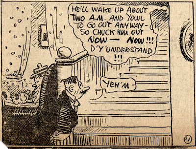 Uriah's wife tell him to put the cat outside George Herriman Stumble Inn