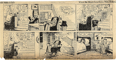 George Herriman Stumble Inn high resolution hi-res comic strip scan