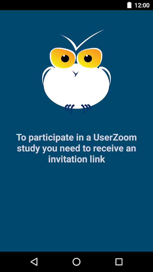 UserZoom Surveys- screenshot