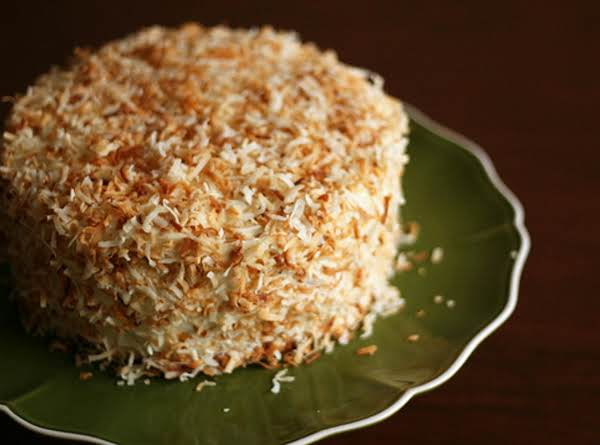 Most Wonderful Coconut Cream Cake Ever =)