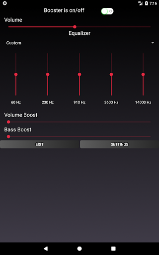Speaker Booster with Bass Booster and Equalizer 3.1 screenshots 17