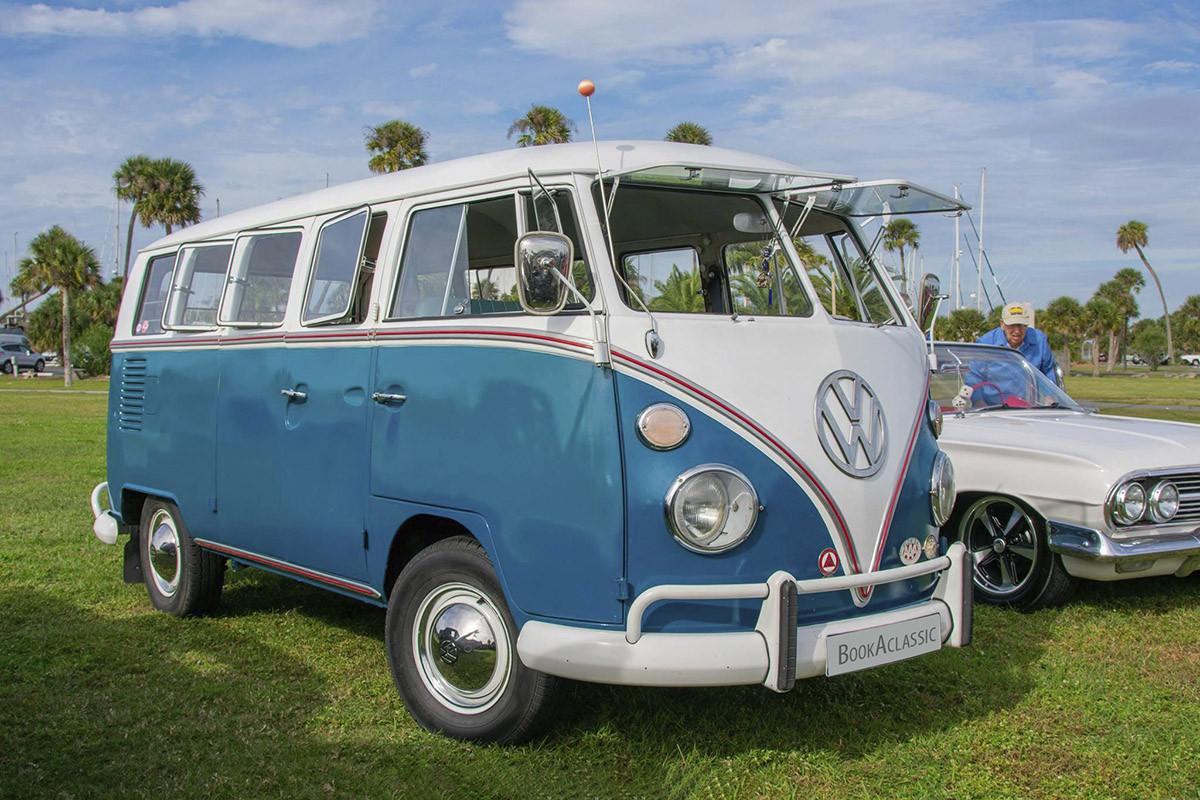 Volkswagen 13 Window Deluxe Hire Titusville