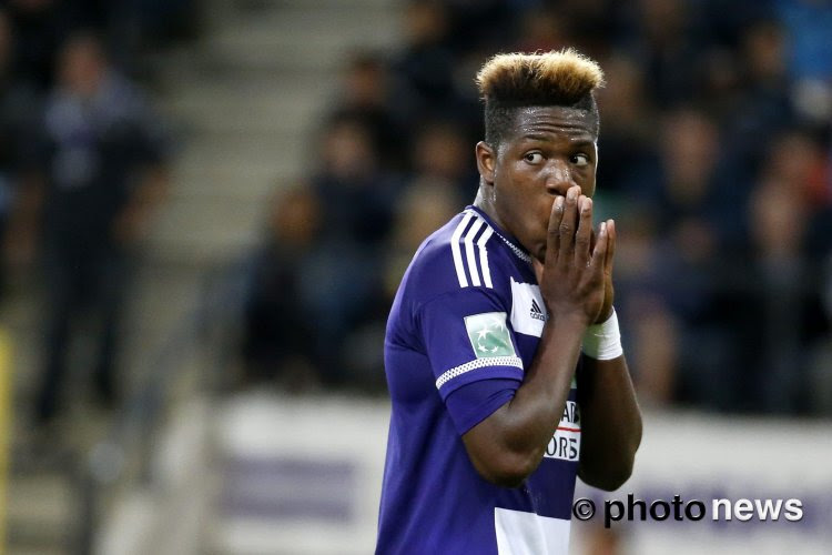 Batshuayi donne de l'espoir aux fans Anderlechtois