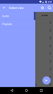 project blue audio client for JRiver Media Center 2.39.5 MOD for Android 1