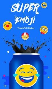TouchPal Sticker - Super Emoji - náhled