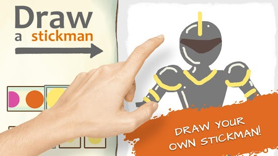 Draw a Stickman: Sketchbook- screenshot thumbnail