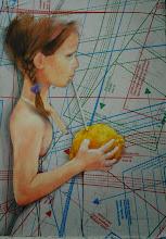 Photo: IL GUSTO DELLA VITA  anno 20111 24x30 olio su carta applicata su tavola  collezione privata © tutti i diritti riservati