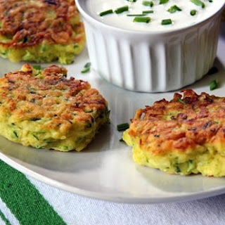 Angelic Zucchini Fritters