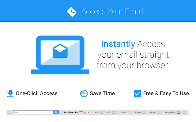 login email now chrome web store