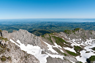 Photo: Ausblick vom Säntis Richtung Bodensee  #Alpstein   #mountainphotos  +Mountain Photos +Baki Karacay  #nikonshooters   #switzerland
