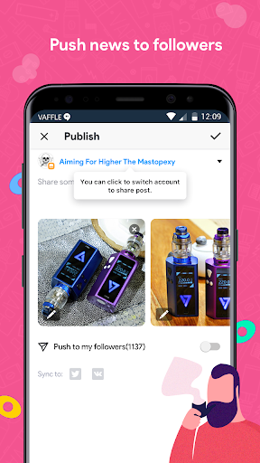 Vaffle 3.3.2 screenshots 5