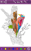Colorish mandala coloring book - screenshot thumbnail 01