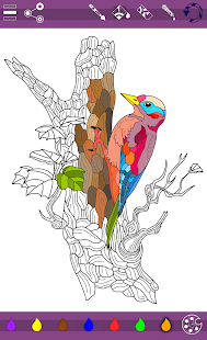 Colorish mandala coloring book - náhled