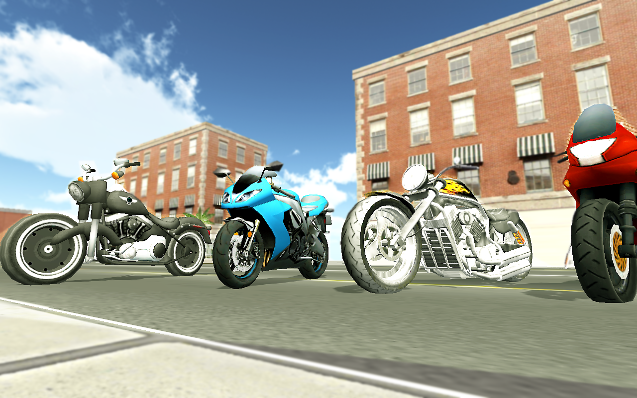 Screenshots of Moto Racer 3D for Android
