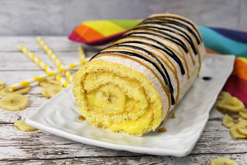 Banana Pudding Roll