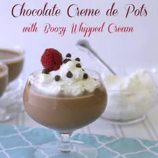 Chocolate Creme de Pots.
