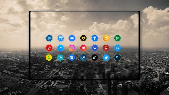 Aura polar - Icon Pack Screenshot