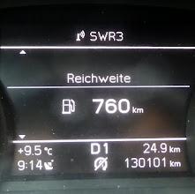 Photo: Abfahrt Bonn Dienstag 11.April 2017, 10.35 Uhr (Differenz zu 9.14: Autopacken). Ankunftsprognose 18, später 18.30 Uhr