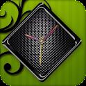 Black Clock Live Wallpaper icon