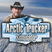 Download Game Arctic Trucker Simulator [Mod: a lot of money] APK Mod Free