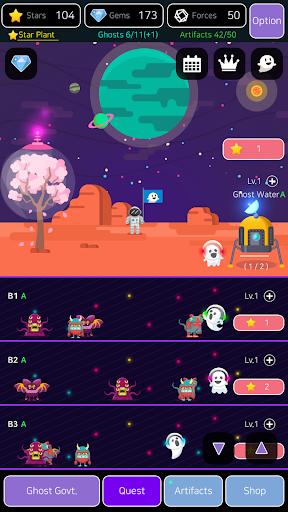 Merge Ghosts: Idle Clicker 1.0.0.4 screenshots 2