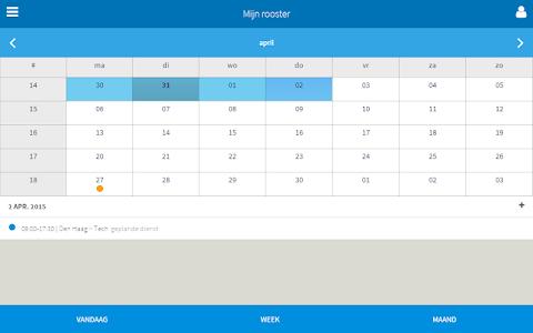 Eijsync personeelsplanner screenshot 9